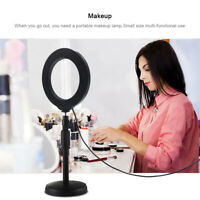 Dimmable Studio LED Camera Ring Light Phone Video Light Lamp With Stand Selfie,