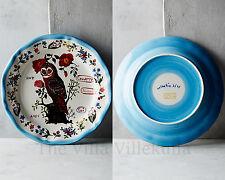 New ANTHROPOLOGIE OWL ~  Nathalie Lete Francophile Dinner Plate