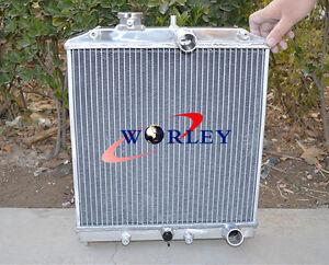 52 MM Aluminum Radiator for Honda Civic EK EG 92-00 , DEL SOL 93-97