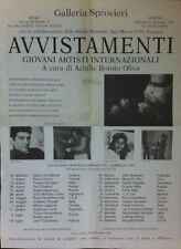 BONITO OLIVA Achille - Avvistamenti. Giovani Artisti Internazionali