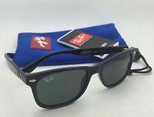 Junior Collection Kids Ray-Ban Sunglasses RJ 9052-S 100/71 48-16 Black w/ Green