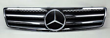 "Mercedes SL Class R129 ""AMG Style"" Front Black & Chrome Hood Sport Grill W129"