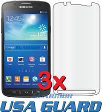 3x Samsung Galaxy S4 Active i9295 i537 Clear LCD Screen Protector Guard Cover