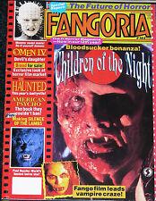 FANGORIA #103 June 1991 Silence of the Lambs Omen 4 American Psycho The Haunted