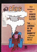 Atlas Magazine Chinese Hydrogen Bomb Picha Sempe  August 1969