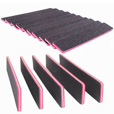 50PCS NAIL ART MANICURE 2-SIDE BLACK BUFFING SANDING FILES BLOCK BUFFER TOOL