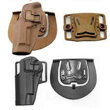 Tactical Quick Release Belt Holster For 1911 M92 G17 P226 Left Handed Shooter