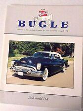 Buick Bugle Magazine 1953 Model 76X April 1992 032017NONRH