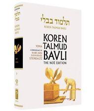 Koren Talmud Bavli No, Vol.9: Tractate Yoma, Hebrew/English, Standard Size Color