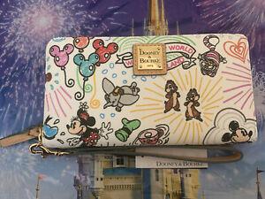 Disney Classic Sketch Wallet by Dooney & Bourke