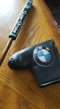 golf club, putter,BMW Custom made, wood shaft, with cover