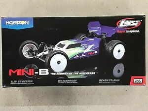 Losi Mini-B 1/16 2WD Buggy Yellow w/2.4GHz Radio Battery & Charger LOS01016T3