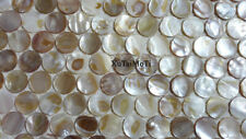 natural round shell mosaic mother of pearl kitchen background bathroom wall tile