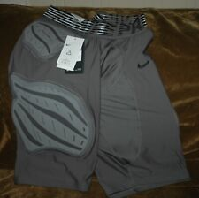 Nike Pro Hyperstrong Football girdle men's 3Xl New with tags gray 5 pads
