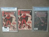 "Vision Quest! ""Chase Hunt"" for Avengers #57 The 1st Vision (CGC 6.5) and more!!!"