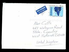Sweden 2003 Airmail Cover To UK #C1973