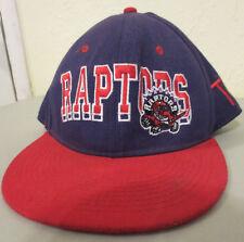 TORONTO RAPTORS NBA TOSA SNAP BACK VINTAGE HAT CAP TRUCKER BLOCK PRINT