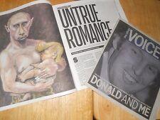 2 VOICE: Untrue Romance Vlad Putin & D Trump 2016 + Ascendant Donald Trump 2015