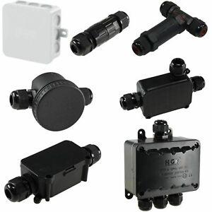 wasserdichte Kabel Verbinder für Erdkabel 230V Leitungen Dosen Kabelmuffe IP68
