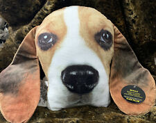 """Beagle """"Dog Pillow""""Puppy Plush/Throw Cushion/Realistic Expression/Dog Lover Gift"""