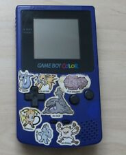Original Nintendo GameBoy Color Spiele Konsole in Lila / Violett