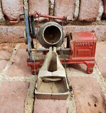Antique 1920's Kenton Jaeger Cement Mixer Cast Iron Toy Construction Hardware!!!