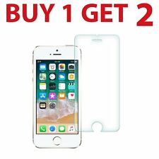 2x Tempered Glass Screen Protector For iPhone 5s New