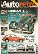 AUTO RETRO 283 MORGAN +8 AUTOBIANCHI A112 AMC PACER PAGANI ZONDA C12 S ARONDE