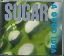 SUGAR - A GOOD IDEA 1992 UK CD CRESCD 143 BOB MOULD, DAVID BARBE, MALCOLM TRAVIS