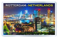 ROTTERDAM NETHERLANDS FRIDGE MAGNET SOUVENIR IMAN NEVERA
