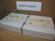 AVID ALIXIR 5 White Hydraulic Disc Brakes Front + Rear 160mm Rotor Cycling MTB