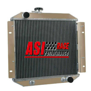 3Row Aluminum Radiator For Ford Escort 1971-1980 72 73 74 75 76 77 78 79 AT/MT