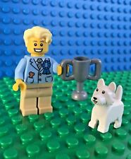 Lego 71013 series 16 DOG SHOW WINNER Puppy Judge Minifigures City Town New!