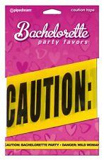 Bachelorette Party Caution Tape 20ft - Fun Favors Bride Bridal Shower