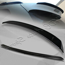 For Toyota Sienna XLE LE SE CE Painted BLK ABS Rear Roof Lip Trunk Spoiler Wing