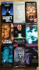 Lot Of 9 Horror VHS...The Frightners, 'Salems Lot, Stir of Echoes & More!