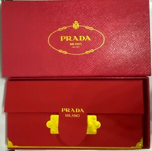 10 pieces of Authentic Prada Chinese New Year Red & gold envelope with box.