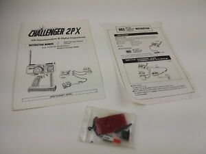 Aristocraft Hitec Challenger 2PX Controller Manual and Accessories