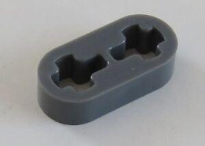 LEGO Technic - Liftarm 1 x 2 dünn (4 Stück), dunkel blaugrau # 41677