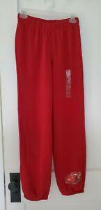 Disney Store Cars Red Sweatpants (Age 8-10) L, NWT