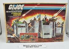 Headquarters Command Center Complete UNBROKEN MIB GI Joe 1983 Hasbro Vintage