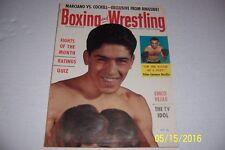 1955 BOXING Illustrated WRESTLING News Tiger MARSH Chico VEJAR Antonino ROCCA