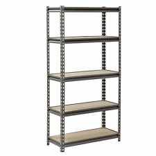 "Muscle Rack 5-Level Heavy-Duty Steel Shelving (30""W x 12""D x 60""H) NEW"