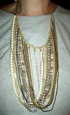Chain Swag Bib Necklace~Chic~ Nwt Stein Blye Multi