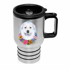Great Pyrenees Stainless Steel 16oz Tumbler
