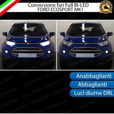 CONVERSIONE FULL LED FORD ECOSPORT MK1 ANABBAGLIANTI + ABBAGLIANTI + DIURNE DRL