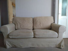 Ikea Ektorp 2 Seater Sofa Cover in Idemo Beige