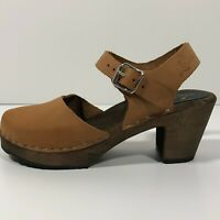 Lotta High Wood Clog Sandal Amputee/Replacement One Single Shoe Left EU 36, US 6