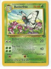 Pokemon Unlimited Edition Jungle set Butterfree 33/64 uncommon NM Condition