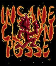 New ICP Insane Clown Posse Plush Gift Blanket Hatchetman Hatchet Man Logo RARE